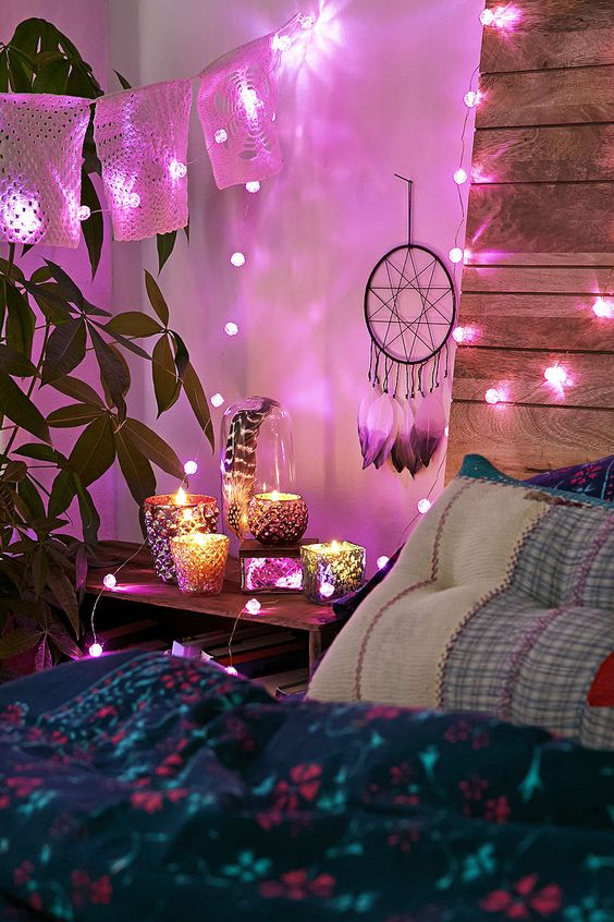 Ideas para decorar tu cuarto estilo boho for Ideas para decorar habitacion hippie