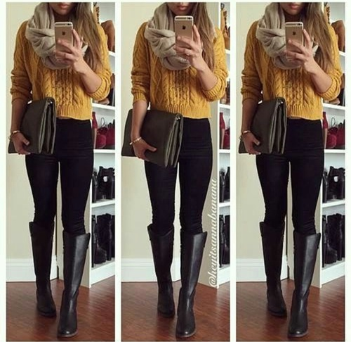 botas outfit genial