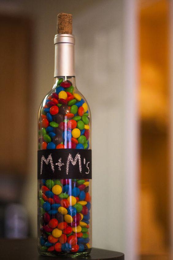 botella m&m