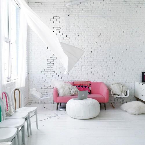 brick wall cute