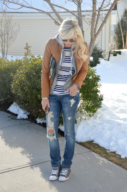 brownjacket outfit