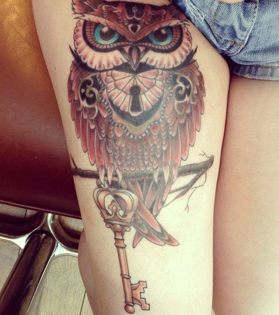 buho tatuajes