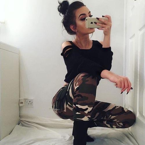 camuflaje pantalon
