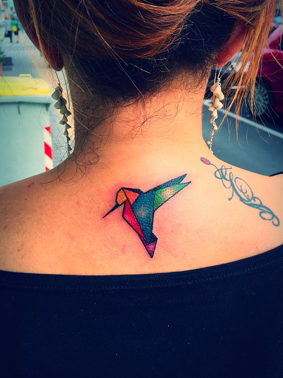 colibri tatuaje