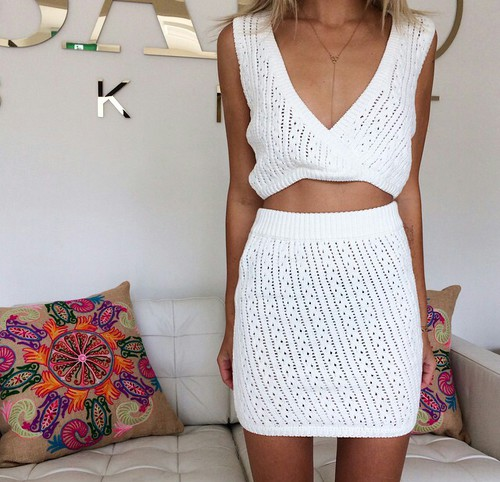conjunto- crochet