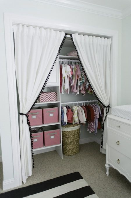 Ideas para tener un cl set abierto sin que luzca desastrozo for Ideas puertas de closet