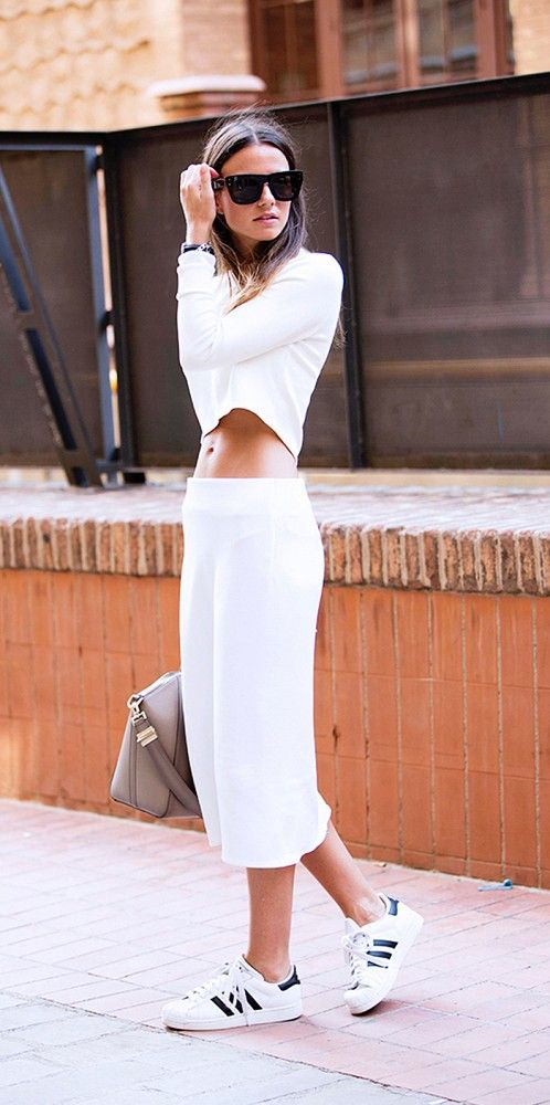culottes blanco
