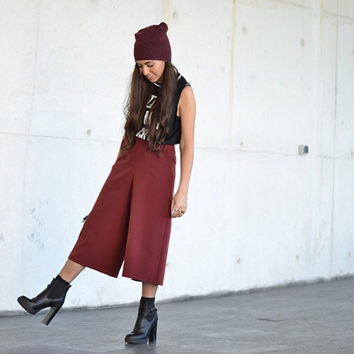 culottes casual
