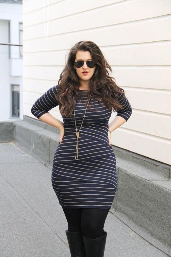 Vestidos para mujeres curvilineas
