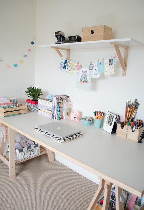 decorar escritorio