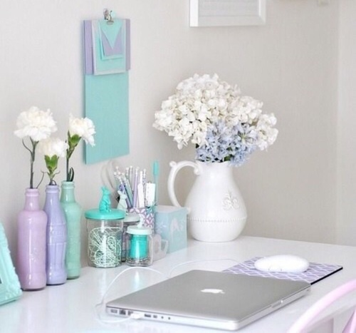 desk pastel