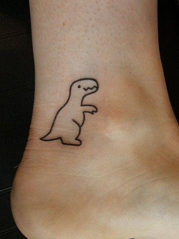 dinosaurio tatuaje