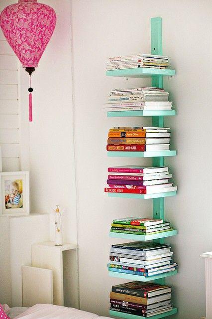 Ideas para decorar tu habitación o depa con tus libros favoritos