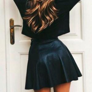 falda-de-cuero