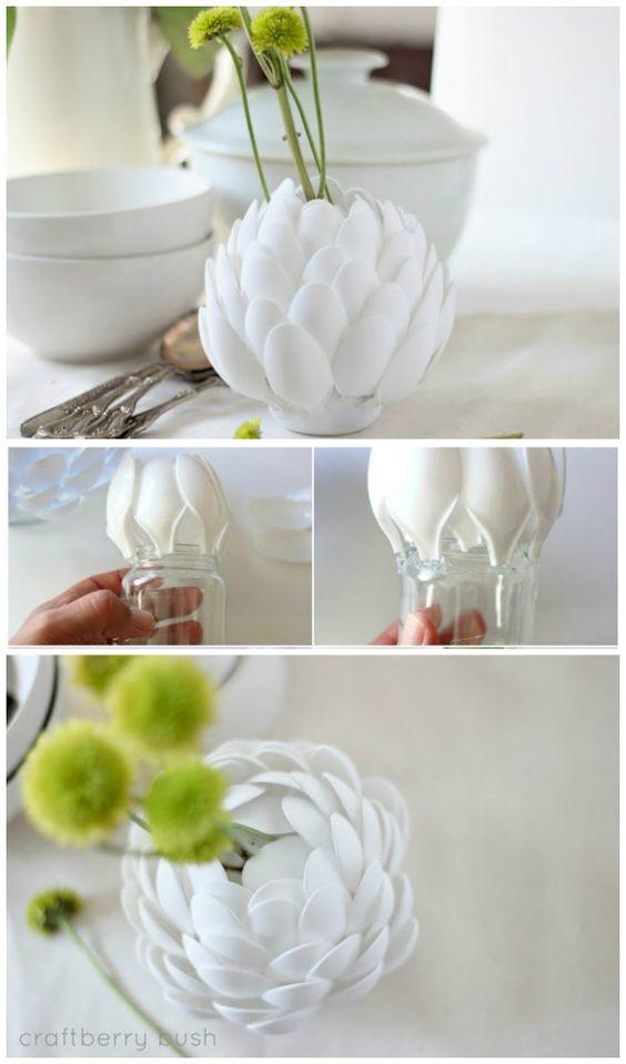 florero cuchara