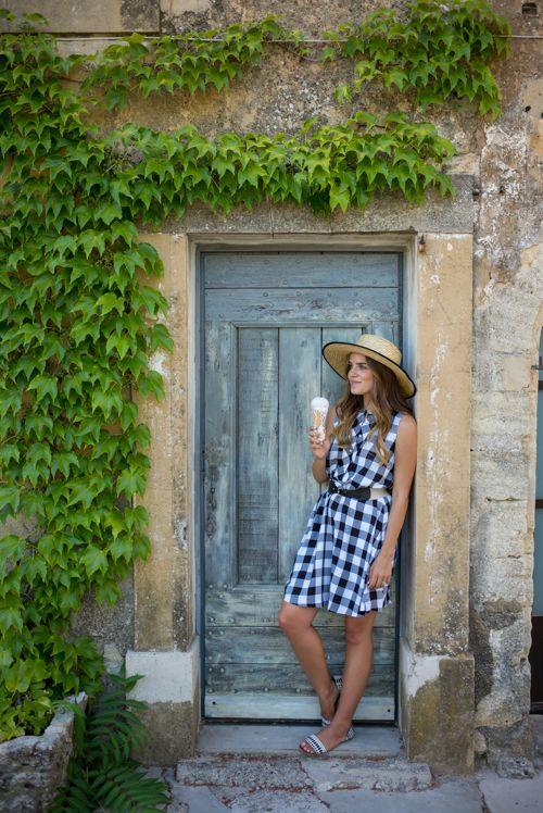 ginham dress