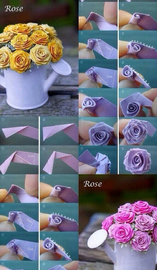 jarra rosas