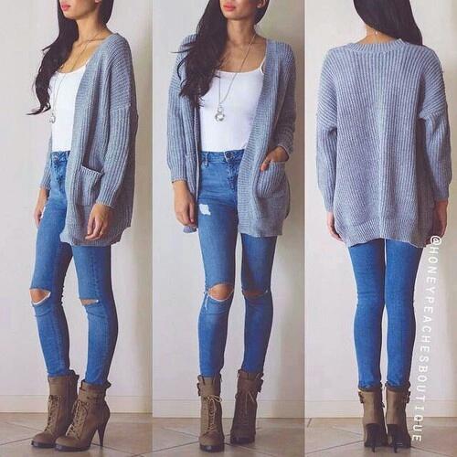 jeans y botas