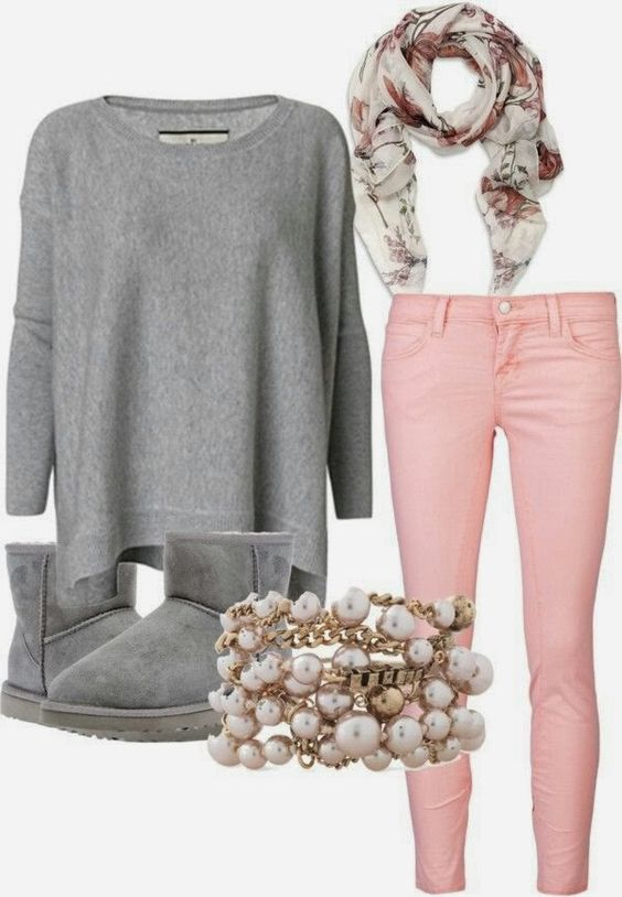 Gray Sweater Uggs