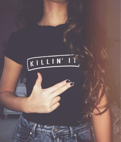 killin it mujer