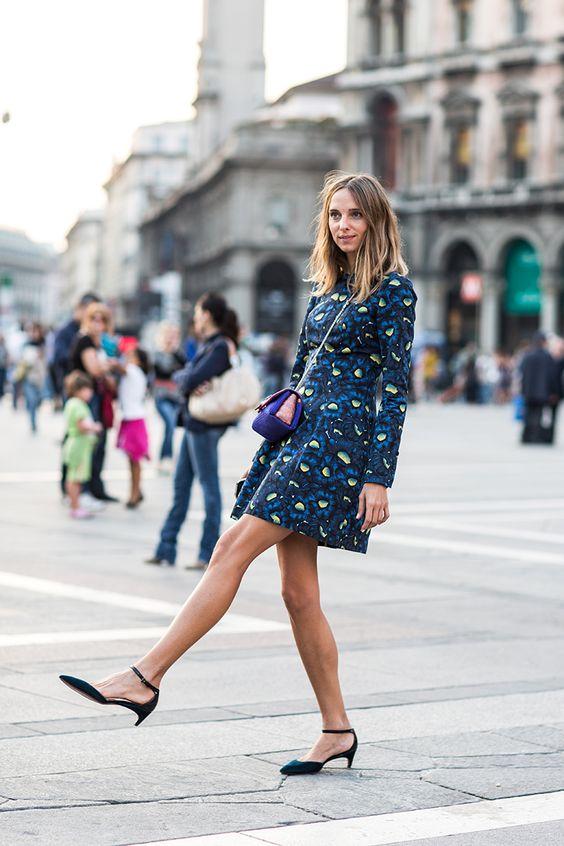 Zapatos para vestidos cortos pegados