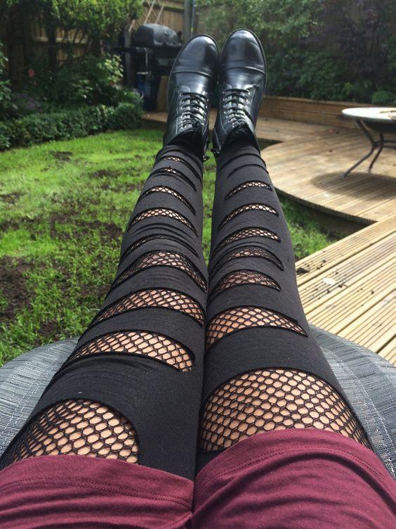 leggins y medias