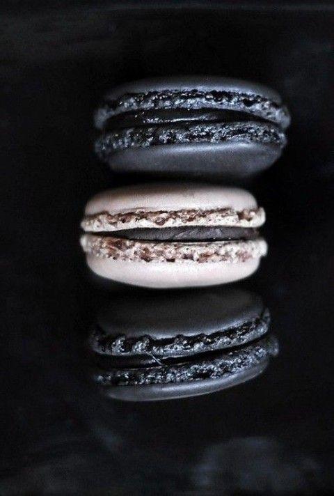 macarons negros