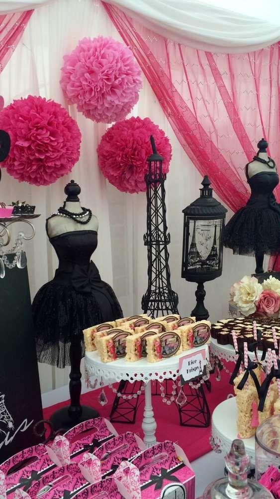 Decoracion Quincea?eras Paris ~ Ideas para tener una fiesta al puro estilo parisino