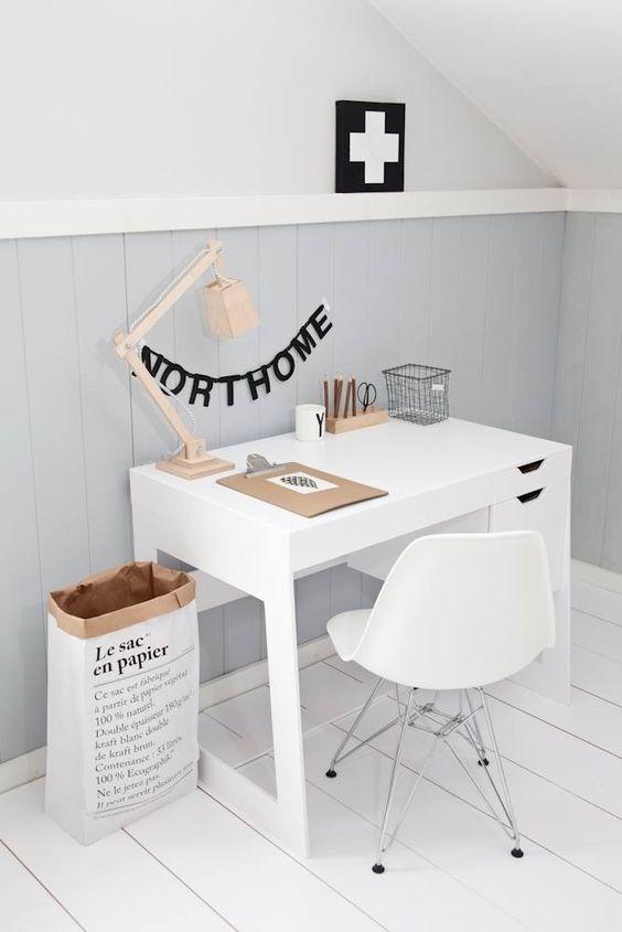 minimalista escritorio