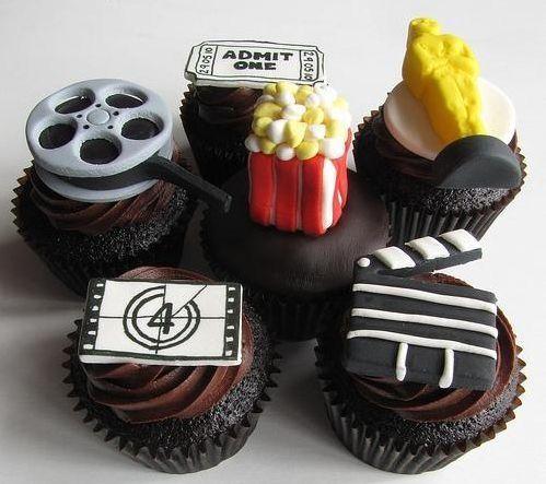 movie cupcakes
