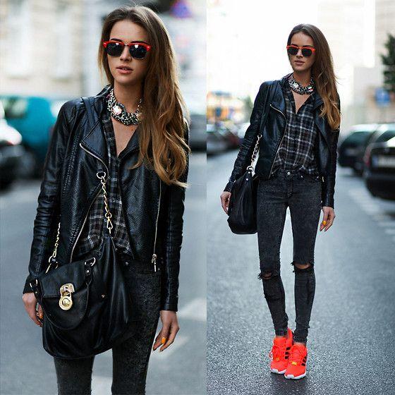neon sneaker moda