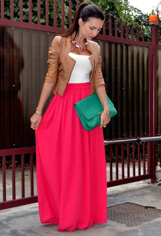 outfit brown jacket