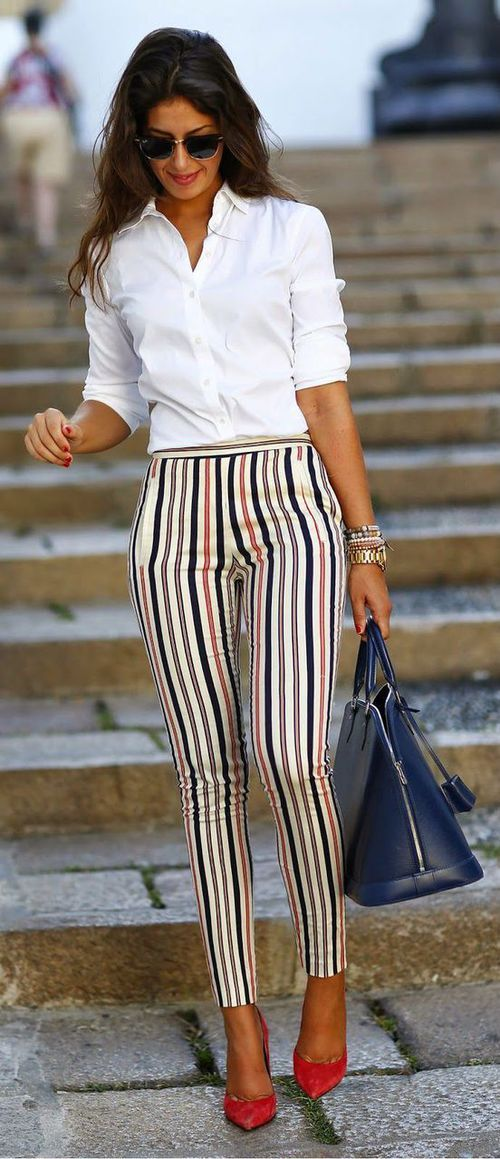 pantalon raya