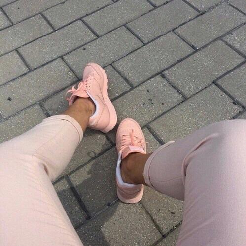 pants rosas