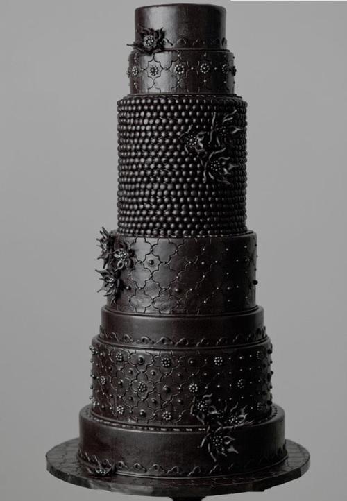 pastel negro