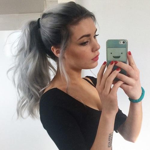 peinado selfie