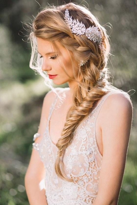 peinados novia lindos