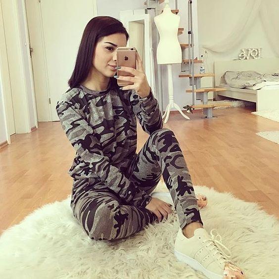 pijama camuflaje