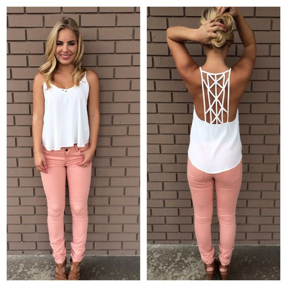 pink -jeans