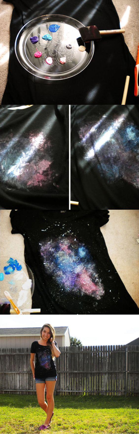 playera galaxia