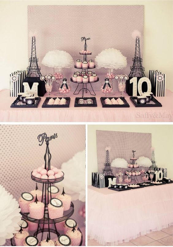 Ideas para tener una fiesta al puro estilo parisino for Mia decoracion