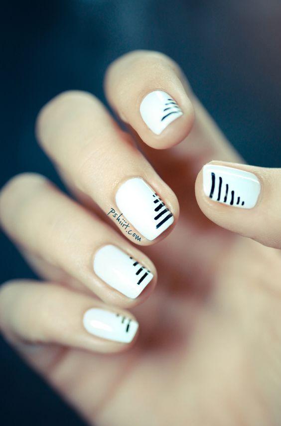 rayas blancas