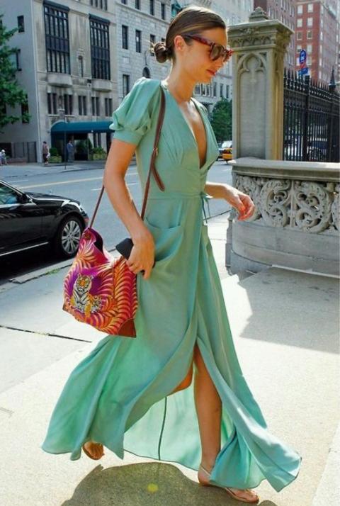 sandalias vestido