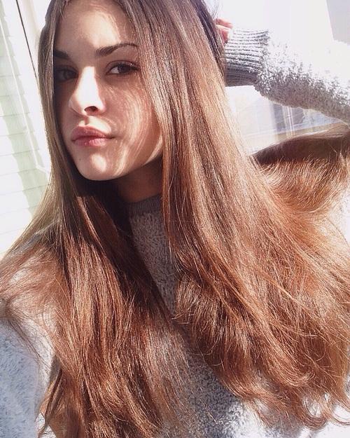 selfie hair