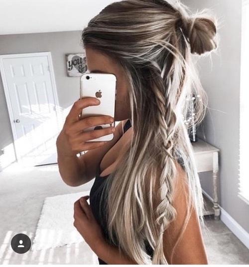 selfie hairstyle