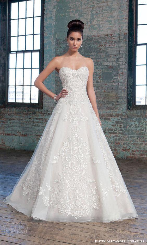 vestidos de novia para mujeres con poco busto – los vestidos de
