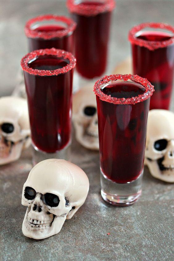 shots rojos