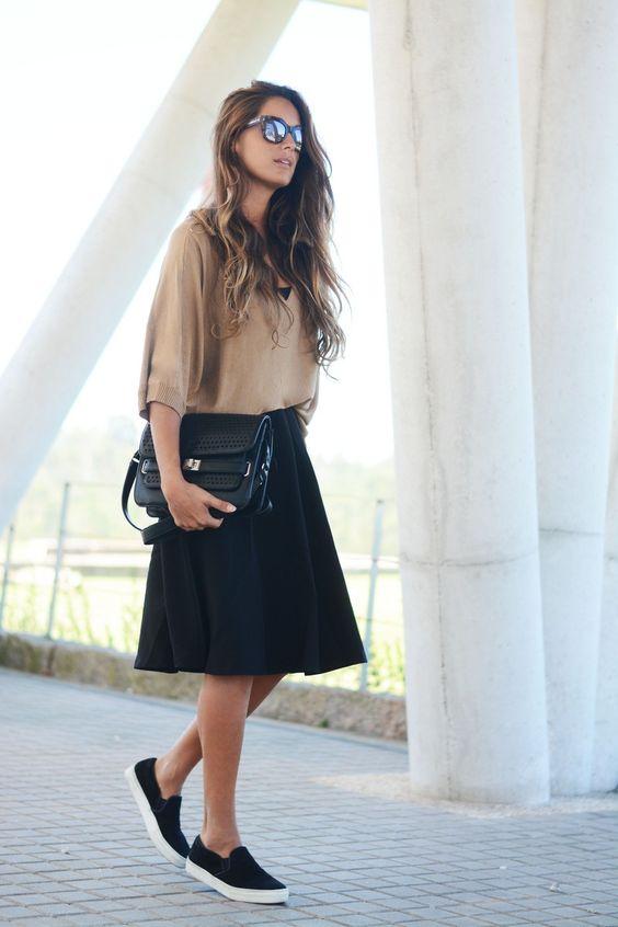 skirt slip on