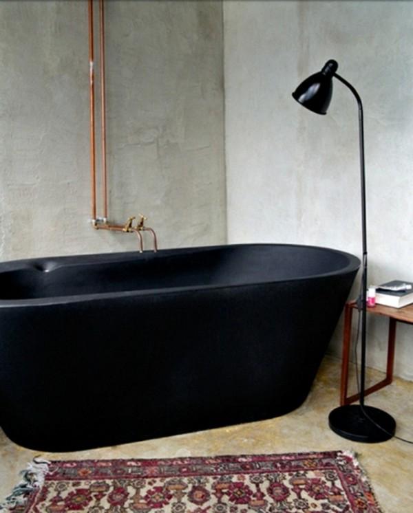 tina negra minimalista