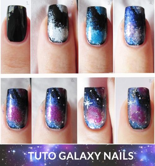 uñas galaxia